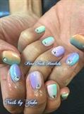 Pastel Gradient Nails