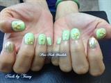 Ocean Themed Nails