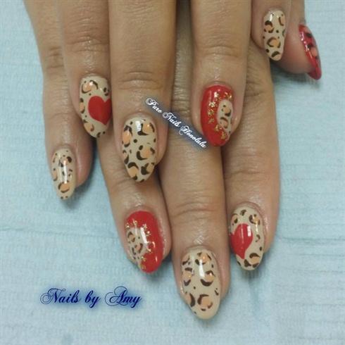 Leopard & Heart