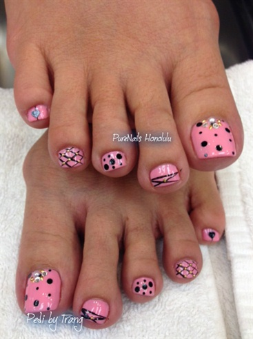 Pink Pedicure