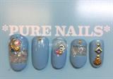 Sea Shell Nails