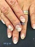 Wavy Pink Nails