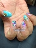 Seashell Nails #2