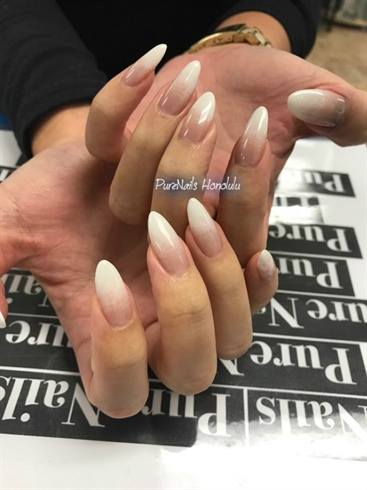 Nude And White Nail Art Gallery