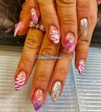 Pink Summer Nails