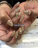 Shiny and Gold Nails