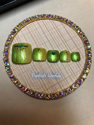 Green Pedi