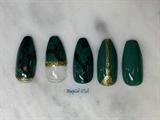Green Jade Nails