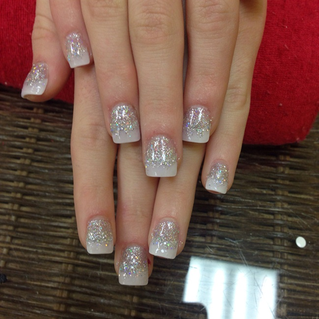 White French Tips - Nail Art Gallery