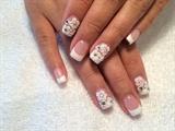 Nails Design 3d Flower