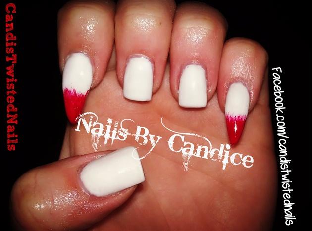 Vampire fangs nail art gallery vampire fangs prinsesfo Choice Image