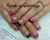 Pink and Black French