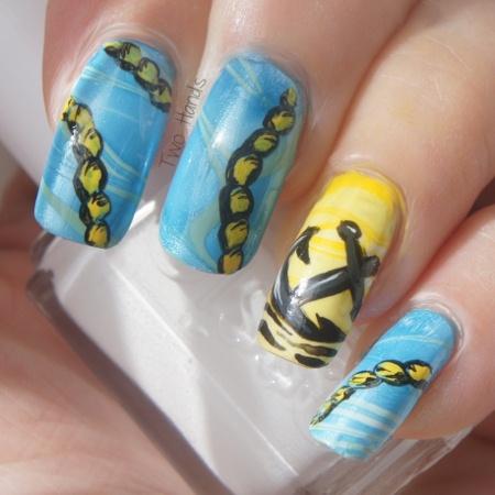 Nautical Nail Art Nail Art Gallery