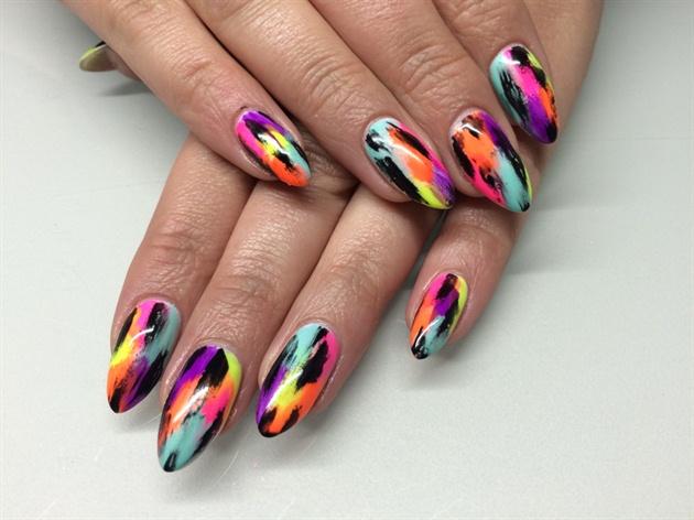 Brushed Nails