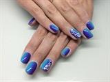 Blue & Violet Ombré