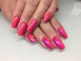 Fuchsia & Neon Peach Ombre