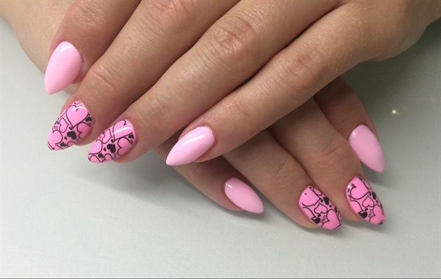 Sweet Pink Hearts
