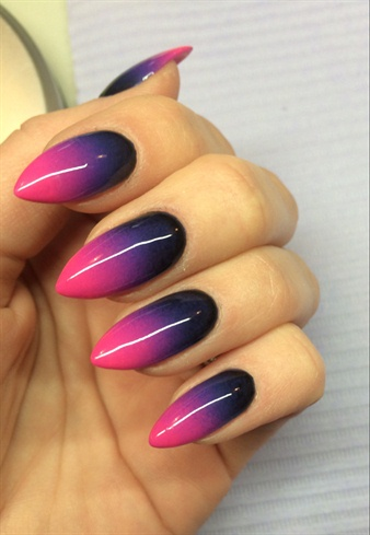 Pink, Purple & Black