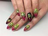 Neon Zebra & Leopard