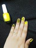 Yellow_Cute Nailart