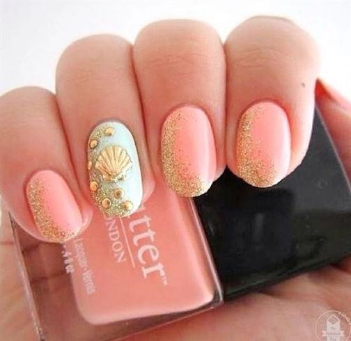 Natural nail art - Nail Art Gallery