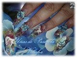 Edge Nail with 3d fairie by Velisha