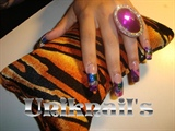 Purple mix / Model: Dalenry Nuñez