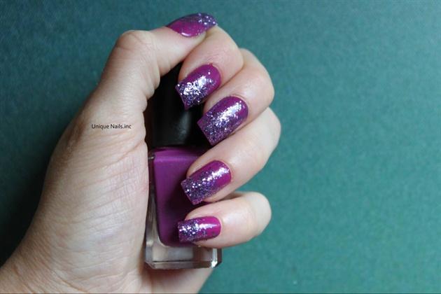 Real Glitter Nails