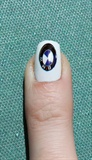 BMW Logo Nails