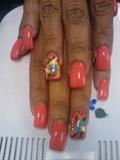 blancas nails