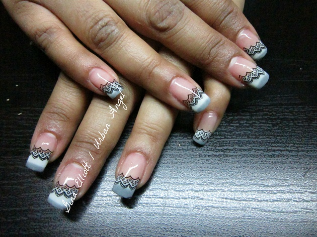 Colour Me Lace 2 Nail Art Gallery