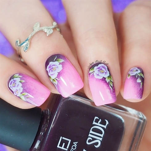 Easy Floral Manicure
