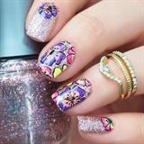 Sparkly Floral Design