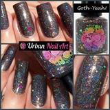A Swatch of UNA 'Goth-Yeah!'