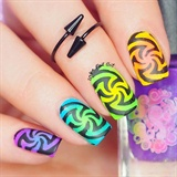 Electrified Swirly Design