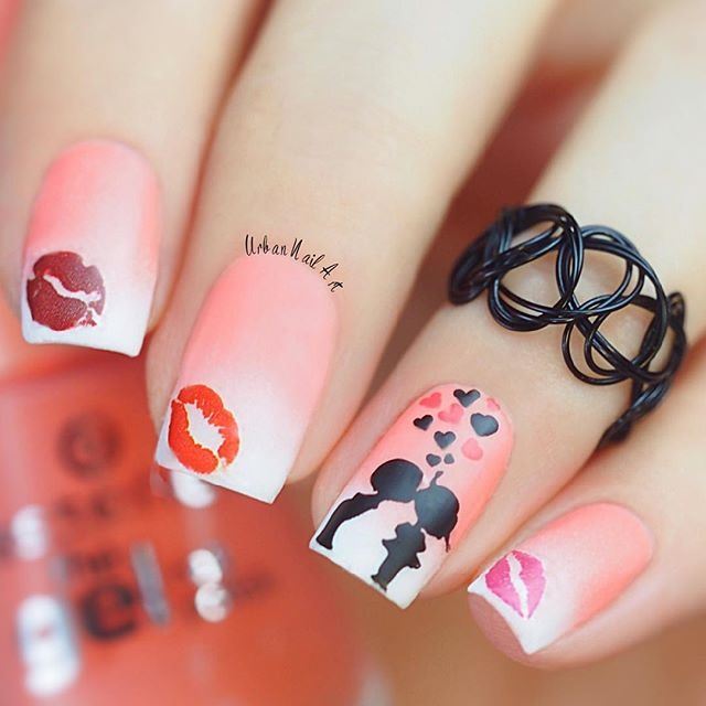 First Kiss\' Design - Nail Art Gallery