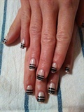 Elegant Lace Nail Art CND Shellac