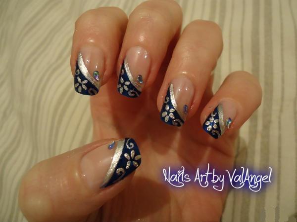 Nail art French Chic
