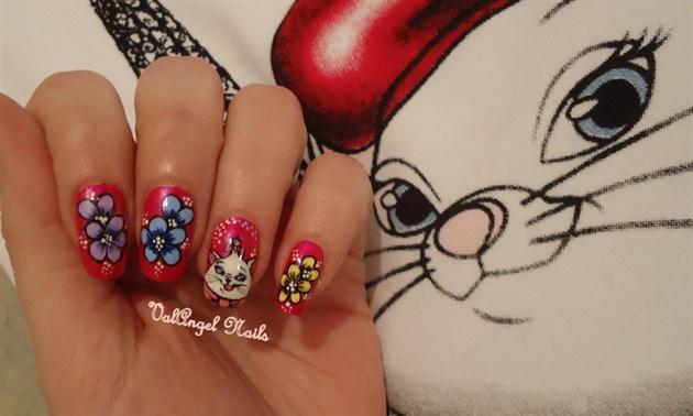 "Nail art ""Minù"""