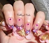 Nail art Mosaic
