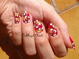"Nail Art ""Hibiscus"""