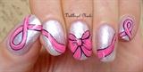 """Nail art """"Nastro Rosa"""""""