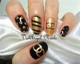 """Nail art """"Chanel"""""""