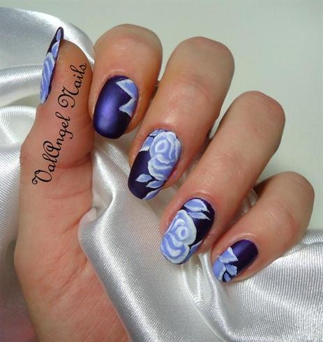"""Nail Art """"Soft Roses"""""""
