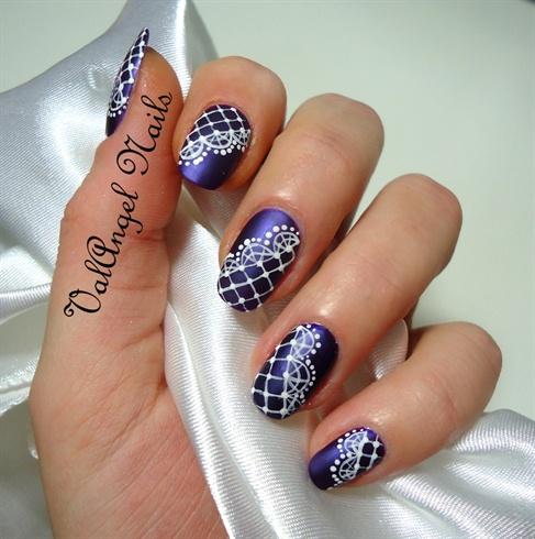 "Nail Art ""Merletto"""