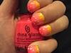 Pink Sparkle Ombré