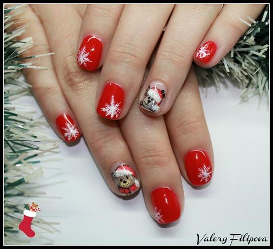 Christmas Nail Art Designs Gallery: Nail Art Gallery