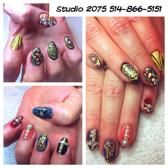 jewel nails - Nail Art Gallery