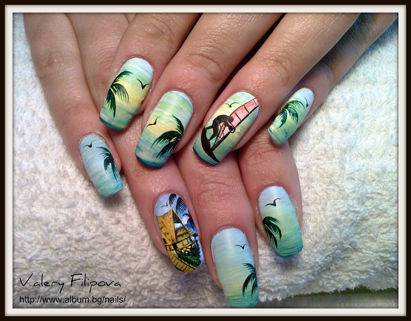 Exotic nature 2 - Nail Art Gallery