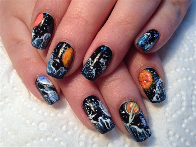 Universe 2 Nail Art Gallery